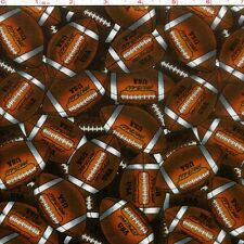 Packed Sports - Football Premium 100% Cotton Fabric by the Yard
