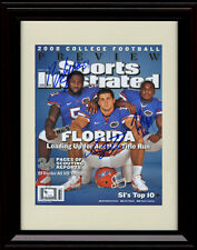 Framed Tim Tebow/Brandon Spikes/Percy Harvin Sports Illustrated Print - Gators!