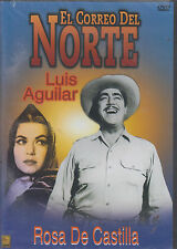 DVD - El Correo Del Norte NEW Luis Aguilar Rosa De Castilla FAST SHIPPING !