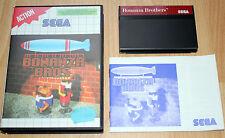 BONANZAS BROS Sega Master System / Complet / Fr / envoi gratuit