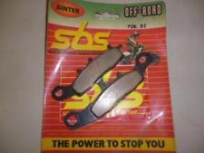 Pastilla de freno SBS moto Suzuki 85 RM 2005 - 2010 726SI en pa