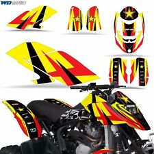 Graphic Kit CANAM DS 650 ATV Quad Decals Wrap Can-Am Accessories DS650 Parts R S