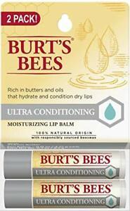 100% Natural Moisturizing Lip Balm Ultra Kokum Butter Shea Cocoa Butter  2 Tubes