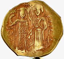 1221/2-1254 AD John III Ducas-Vatatzes Empire of Nicaea AV hyperpyron NGC Ch AU
