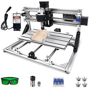 VEVOR 3 Axes 3018 CNC Routeur Machine De Gravure Port USB Graveur Laser 500 mW
