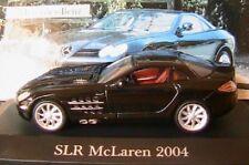 MERCEDES BENZ SLR MCLAREN V8 AMG 2004 C199 IXO 1/43 ALTAYA SCHWARZ BLACK NOIR