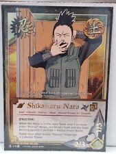 """Naruto Shikamaru Nara N-578 """"Proctor"""" Super Rare NM"""