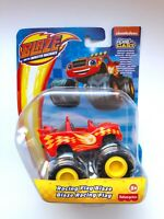 Blaze and the Monster Machines BLAZE Racing Flag Diecast Car Fisher Price NEW