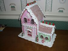 ENESCO/DEPT. 56-CHRISTMAS CANDY LIT SWEET SHOP-NEW 2016