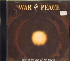 War & Peace(CD Album)Light At The End Of The Tunnel-New