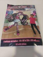 "Monster High Airwalker 65"" Foil Balloon Birthday Party Supplies"