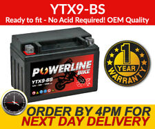 Genuine OEM YTX9-BS Motorbike Motorcycle Battery Filling Kit not Required