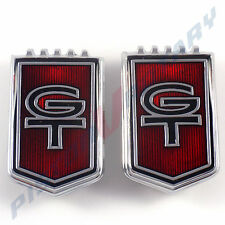 GT Boot Pillar Grille Shield Badges (x2) New for Ford XR Falcon 289 Grill Trunk