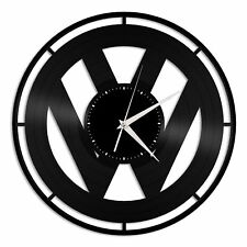 VW Vinyl Wall Clock Unique Gift for Car Lovers Decoration Bedroom Home Decor