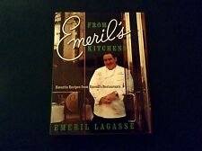 Emeril Lagasse Signed Copy - From Emeril's Kitchens - Restaurant Recipes