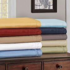 Glorious Bedding Collection Deep Pocket Egyptian Cotton Olympic Queen All Solid