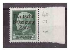 ZARA  1943  - 25  CENTESIMI -  SECONDO TIPO   NUOVO **