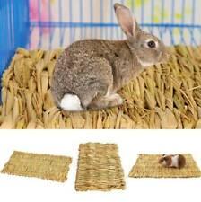 Weaving Grass Pet Hamster Chew Mat Toy Rabbit Rat Guinea Pig