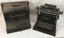 Machine à écrire Remington 7 Standard  tapewriter n°7 - 1896 Fonctionne TBE