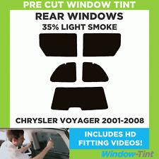 CHRYSLER VOYAGER 2001-2008 35% Licht hinten Vorgeschnittene Scheibentönung