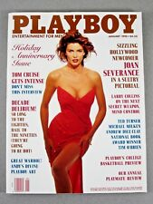 PLAYBOY January 1990 Joan Severance/Tom Cruise/Andrew Dice Clay/Angela Cavagna