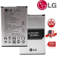 For LG K4 K8 Cell Phone Li-ion Battery 2500mAh Aristo OEM BL-45F1F New Original