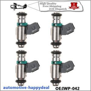 4X Petrol Fuel Injector IWP042 Fits Renault Clio SPORT 172/182 Megane Scenic 2.0