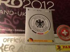 #224 Germany badge Panini Euro 2012 SWISS PLATINUM EDITION sticker