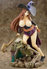 Sorceress Dragon's Crown Over Skeleton 1/8 Unpainted Figure Model Resin Kit