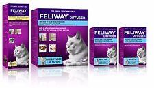 Feliway for Cats Diffuser Set, 2 Additional 48mL Refills & 60mL Feliway Spray