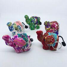 10 PCs-Thai Elephant Handmade Key Ring Gift Souvenir Collection accessories-SET