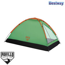 Tenda Igloo da Campeggio 2 persone Verde Camping Outdoor Bestway