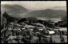 Laubendorf Kärnten Österreich alte s/w AK 1962 gelaufen Millstätter See Panorama