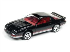 Auto World 1:64 1984 Chevy Camaro Gloss Black Die-Cast Car