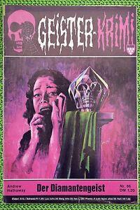 Geister-Krimi Erstdruck, Nr.: 86 mit Rick Masters von Andrew Hathaway, Z: 2+