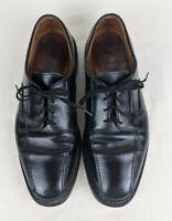 Allen Edmonds Hillcrest Mens Shoes Size 10 D Black Leather Bicycle Toe Oxford