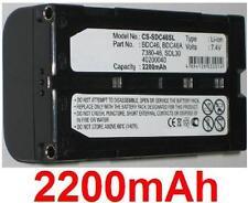 Batterie 2200mAh type 40200040 7380-46 BDC46 BDC46A SDL30 Pour SOKKIA SET 300