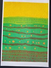 MONTESSORI SCHOOL IMAGINATION 1960s FLOWER POWER EDUCATION TEACHING POSTER 60's