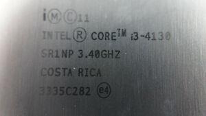 CPU Intel CORE i3-4130 3 MB Cache | 3,40 GHz