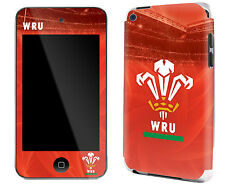 Il Galles Rugby IPOD TOUCH 4 Adesivo Pelle Nuovissima