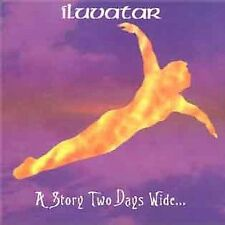A Story Two Days Wide CD by ILUVATAR 1999 Rare OOP Prog Rock