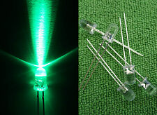 1000pcs 5mm Cyan 505-510Nm Bright Light Led 12V with Free Resistors 5Cl