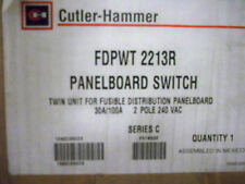 CUTLER HAMMER FDPWT2213R 30/100A 2P TWIN FUSED SWITCH