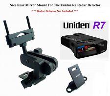 Rear Mirror Mount Brackt Good For Uniden R7 Radar Detector*Detector Not Included