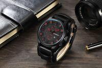 New CURREN Top Brand Luxury Mens Watches Male Clocks Date Sport Military Clock L