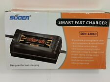 SUOER Smart Fast Lead-acid Battery Charger For Car Motorcycle SON-1206D