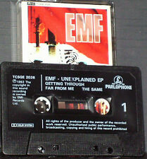 EMF Unexplained EP CASSETTE SINGLE  3TRACKS Pop Rock Synth-pop Indie Rock
