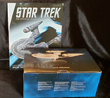STAR TREK EAGLEMOSS : USS FRANKLIN w/ MAGAZINE & BOX !!