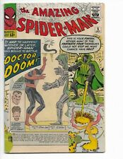 AMAZING SPIDER-MAN 5 - QUALIFIED G+ 2.5 - EARLY DOCTOR DOOM (1963)