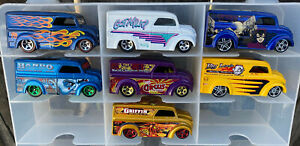 LOT #22 - LOT OF 7 HOT WHEELS DAIRY DELIVERY - ALL NEW BLISTER PULLS